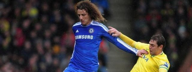 david luiz against norwich city