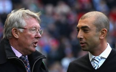 di matteo and sir alex ferguson