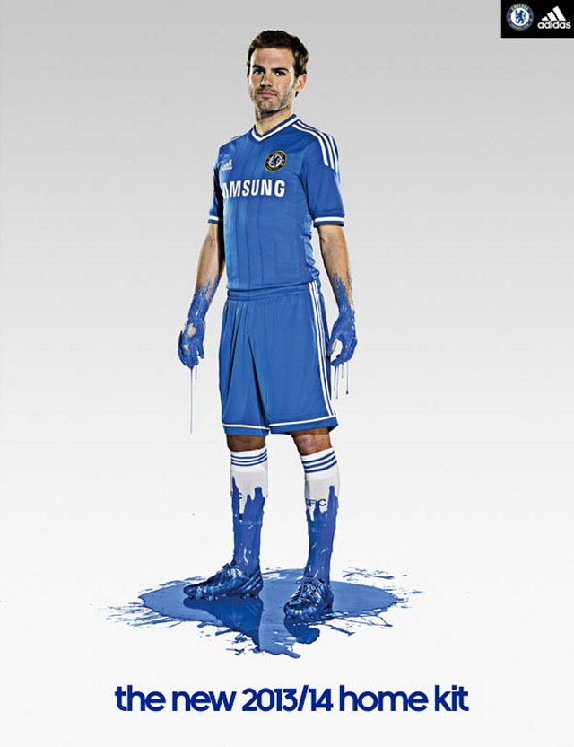 Chelsea home 2013-14 kit launched