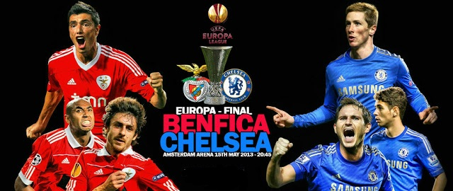 Benfica vs Chelsea Europa league final 2013