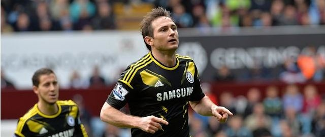 Frank Lampard record-breaking goal
