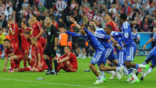 Chelsea Champions League win over Bayern Munich 1