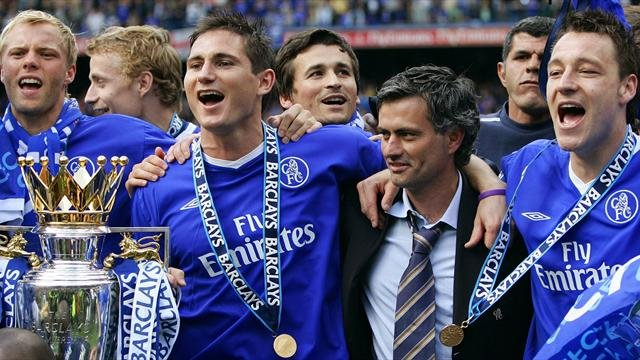 Chelsea Premier League title 2005