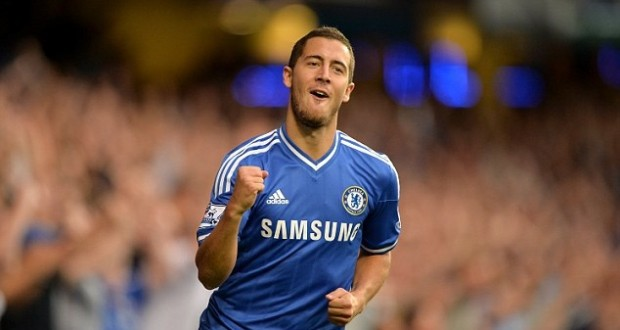 Eden Hazard vs Aston Villa 2013