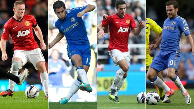 Manchester United Chelsea 2013