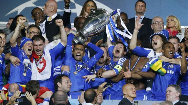 Chelsea 2012 Champions League Winners Trophy