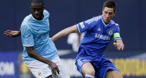 Chelsea Manchester City 2013 Torres Yaya Toure