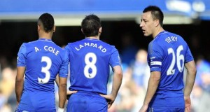 John Terry Ashley Cole FrankLampard 2014
