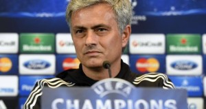 Chelsea manager Jose Mourinho Champions League semi-final Atletico Madrid 2014
