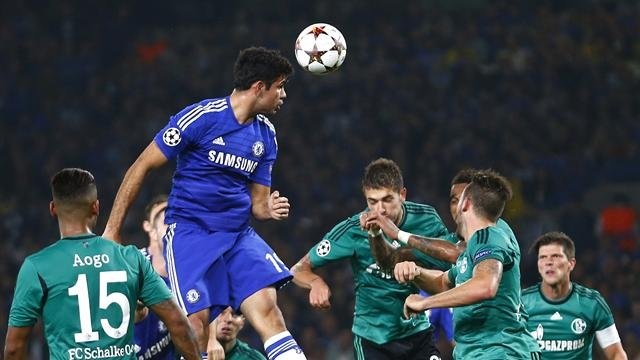 Diego Costa vs Schalke Champions League
