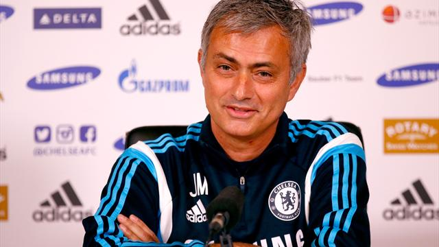Jose Mourinho Chelsea sharks champions league 2014 1