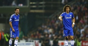 David Luiz and Juan Mata Chelsea 2-0 Swindon 2013