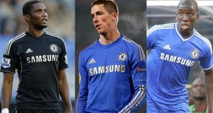 Samuel Eto'o Fernando Torres Demba Ba Chelsea