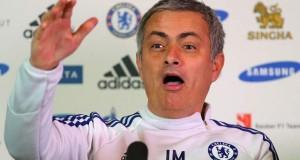 Chelsea vs Manchester United 2014 Jose Mourinho