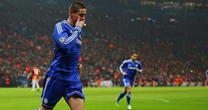 Fernando Torres scoring Galatasaray Champions League 2014
