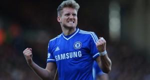 Andre Schurrle hat trick Chelsea vs Fulham 2014