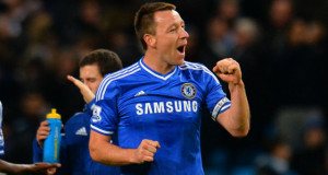 John Terry Chelsea defensive line 2014