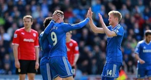 Fernando Torres Cardiff city Chelsea 2014