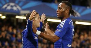 Chelsea Didier Drogba Eden Hazard 2014