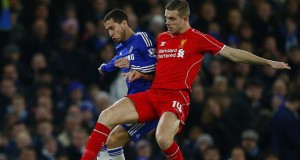 Chelsea vs Liverpool 2015 Eden Hazard John Henderson