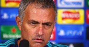Jose Mourinho angry reporter