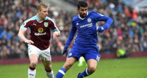 Burnley vs Chelsea Diego Costa
