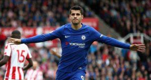 Alvaro Morata Chelsea 2018