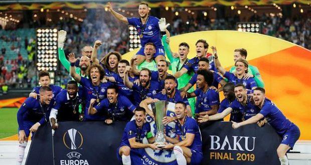 Chelsea Europa League final 2019 win